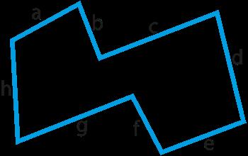 Perimeter irregular polygon.