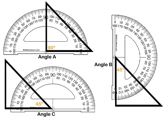 Introduction to Angles | SkillsYouNeed