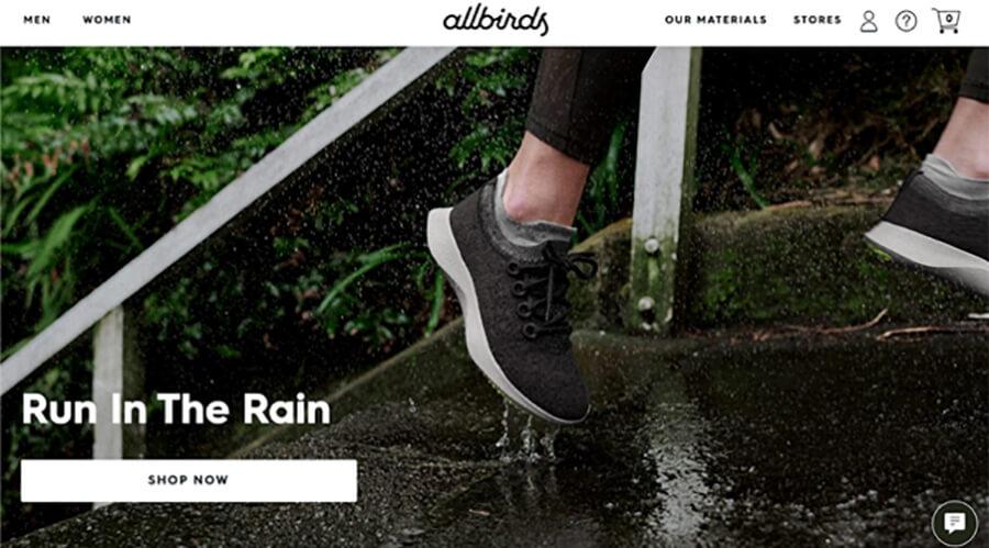 AllBirds, Run in The Rain.