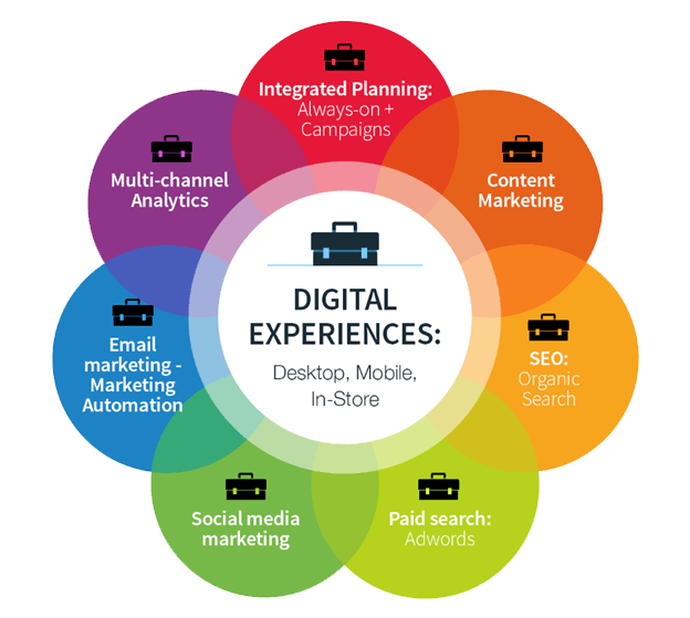 Digital Experiences: Desktop, Mobile, In-Store