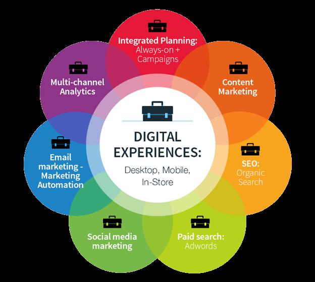 Digital Experiences: Desktop, Mobile, In-Store