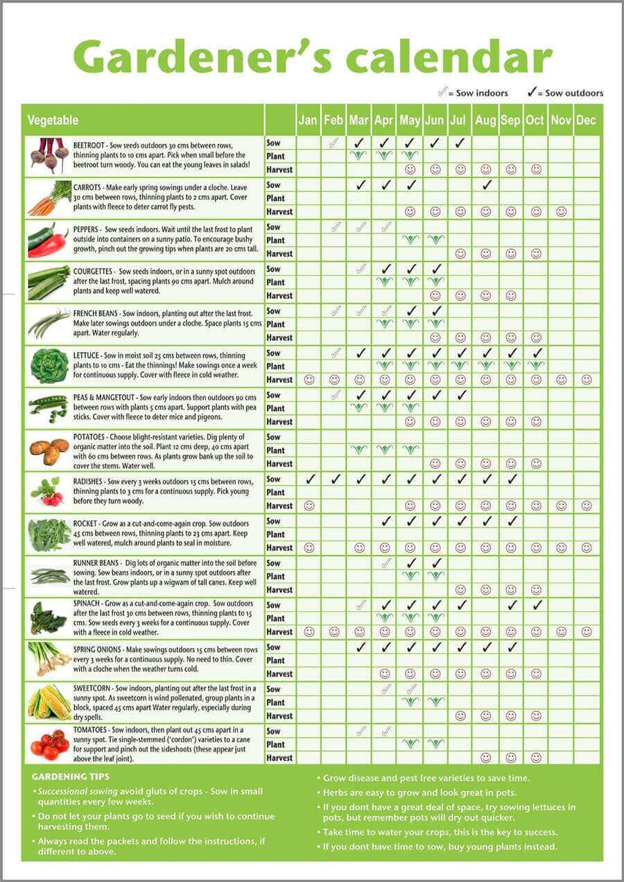 Gardener's Calendar