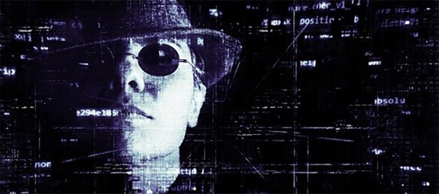 Shady hacker
