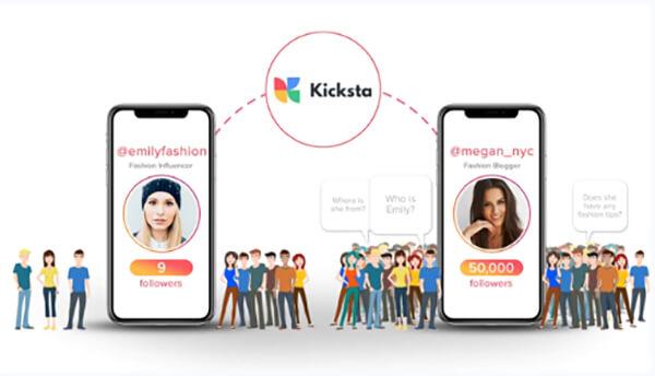 Kicksta screenshot
