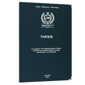 Leather bound thesis