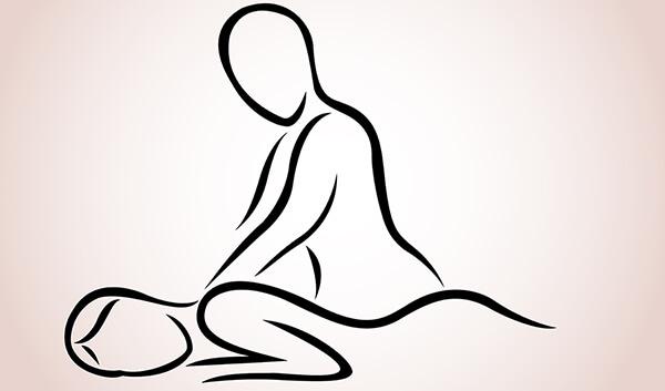 Massage illustration.