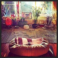 A perfect meditation environment