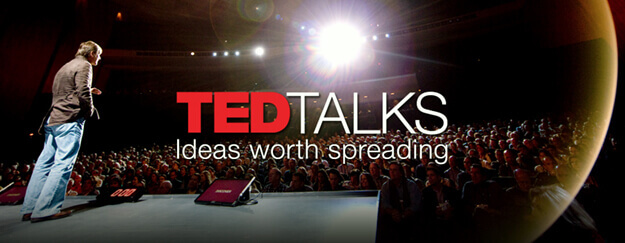 Ted Talks banner.