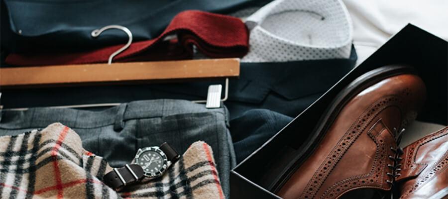 Business man's clothes