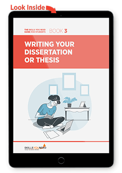 Writing Your Dissertation or Thesis - Look Inside